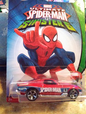Spiderman Hotwheels bought comic con for Sale in San Diego, CA