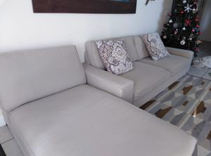 Ikea Kivik Sofa Bed and Chaise long for Sale in Miami, FL