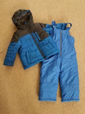 Snow clothes size 3 4 toddler kids snow bib winter snow coat jacket for Sale in Gilbert, AZ