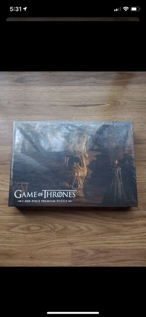 1000-piece Game of Thrones Puzzle! for Sale in San Jose, CA