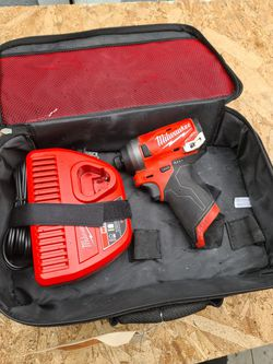 Milwaukee M12 FUEL 12-Volt Lithium-Ion Brushless Cordless 1/4 in. Hex Impact Driver (Tool-Only) for Sale in Snohomish,  WA
