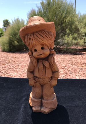 """ Rodeo Queen "" cowgirl by Bill Mack Fannykins sculpture figurine statue western collectible for Sale in Phoenix, AZ"