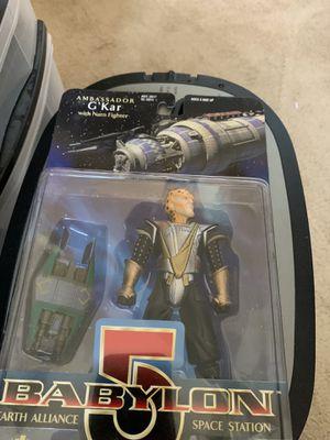 Babylon 5 G ' Kar With Narn Fighter Action Figure for Sale in Gilbert, AZ
