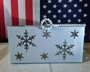Metal Snow Flake Basket Like June's Online Consignment Shop on Facebook for Sale in Neenah, WI