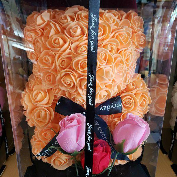 Foam Teddy Bear For Valentines Day
