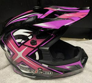 Brand new women's size small Motocross pink helmet for Sale in Morton Grove, IL