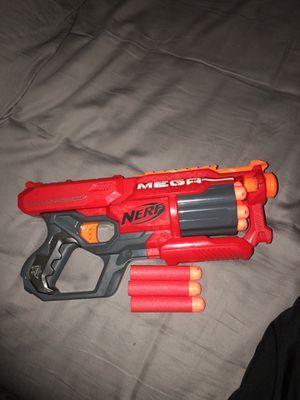 Mega Nerf Gun with extra mega bullets for Sale in Holmdel, NJ