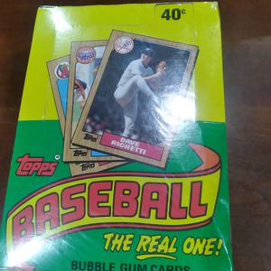 1987 Topps Wax Box. for Sale in Loganville, GA