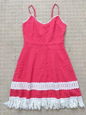 Pink fringe dress for Sale in Westminster, CA