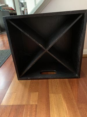 Wooden crate box for Sale in Fairfax, VA
