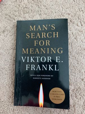 Man's Search for Meaning for Sale in Charlotte, NC