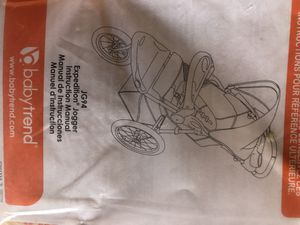 Stroller: Babytrend Expedition Jogger for Sale in Palo Alto, CA