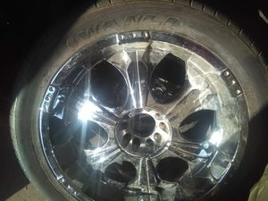 Universal chevy / ford rims for Sale in Fresno, CA