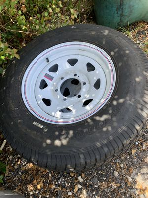 Trailer tires rims nuevas for Sale in Homestead, FL