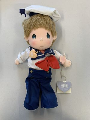PRECIOUS MOMENTS 1986 APPLAUSE TIMMY SAILOR DOLL for Sale in San Jose, CA