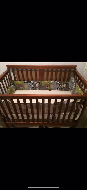 Baby wooden crib for Sale in Dallas, TX