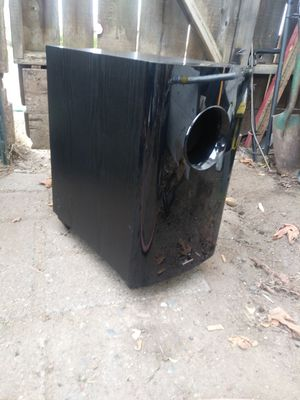 "Onkyo 10"" powered subwoofer for Sale in Tacoma, WA"