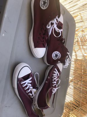 Converse high/low top for Sale in Hayward, CA