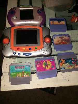 VTech handheld kids games with games included for Sale in Worthington, OH
