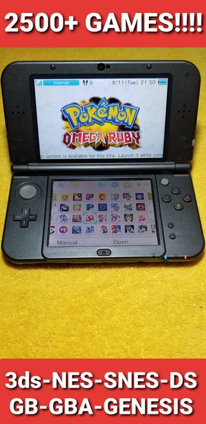 New Nintendo 3ds XL with 2500+ GAMES!!!! for Sale in Chula Vista, CA