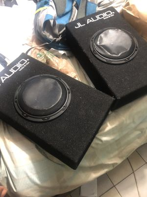 2 JL Audio car Speakers for Sale in Brockton, MA