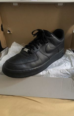 Air Force 1 Black SIZE 11 for Sale in Fontana, CA