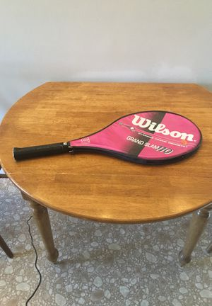 Wilson grand slam 110 tennis racket with protector for Sale in Denver, CO