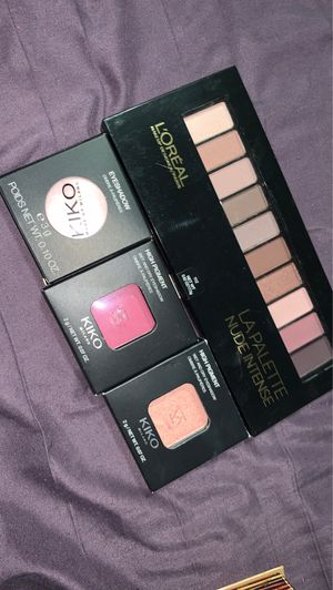 Kiko Milani eyeshadows and L'Oréal Eyeshadow Palette for Sale in Tigard, OR
