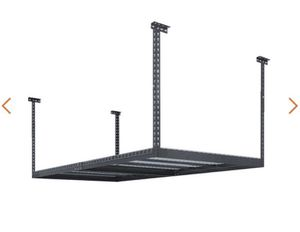 NewAge Products Performance 96 in. L x 48 in. W x 42 in. H Adjustable VersaRac Ceiling Storage Rack in Gray for Sale in Rosemead, CA