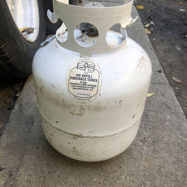 Propane Tank Gas En Muy Buenas Condiciones