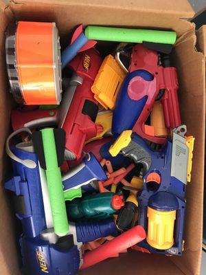 Assorted Nerf Guns & Water Guns for Sale in Millstone, NJ