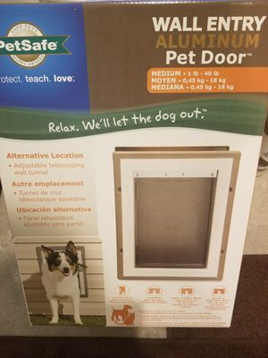 Petsafe Aluminum Pet Door for Sale in Chandler, AZ
