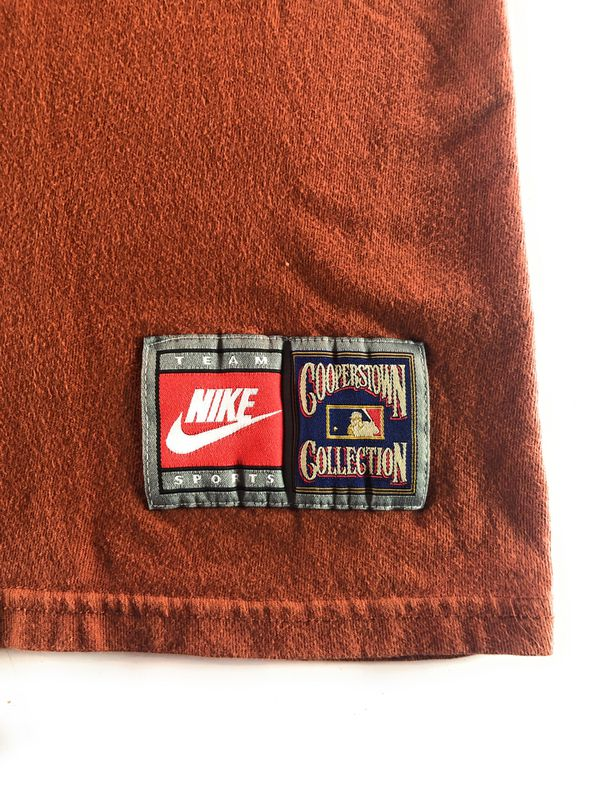 Vintage Nike Cooperstown Collection MLB SD Padres Embroidered Baseball Tee