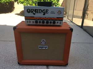 Orange Dual Terror w/ 1x12 Speaker Cab for Sale in Mesa, AZ
