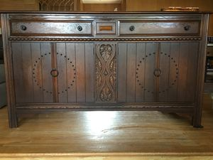 Antique Oak Paine Furniture Company Sideboard for Sale in Los Angeles, CA