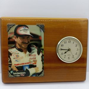 Dale Earnhardt Clock Picture Wooden Plaque for Sale in Waterbury, CT