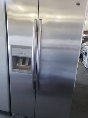 Maytag Refrigerator Fridge Side by Side Free Delivery #802 for Sale in Upland, CA