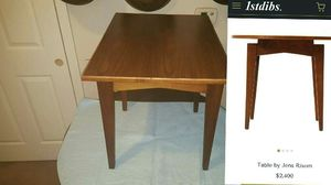 Jens Risom mid-century modern side table for Sale in Charlotte, NC