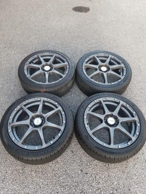 Rims 17 exel 5 lugs for Sale in Fort Lauderdale, FL