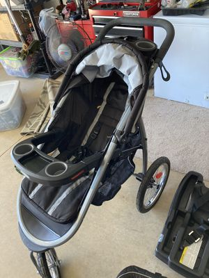 Baby stroller, baby car seat,2 bases for Sale in Champaign, IL