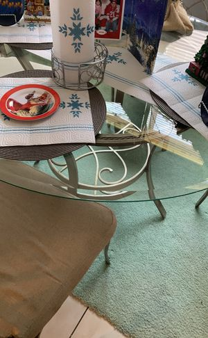 Kitchen table four chairs for Sale in Beason, IL