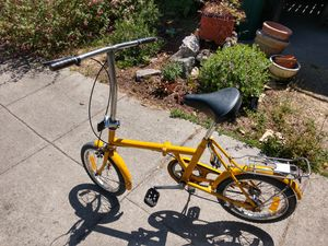 Old school folding bike for Sale in Berkeley, CA