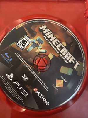 PlayStation 3 Minecraft game for Sale in Paterson, NJ