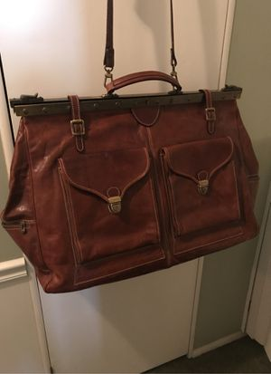 Vintage leather duffel / messenger bag Lorella of London for Sale in Lake Forest, CA