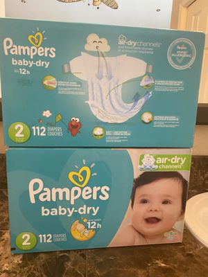 Pampers diapers size 2 for Sale in Fontana, CA