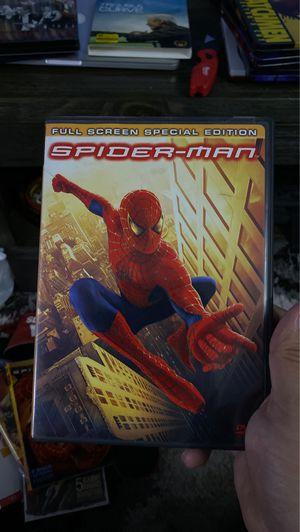 Spider-Man dvd for Sale in Bellflower, CA