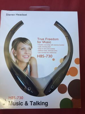 HBS-730 Bluetooth Black Headset for Sale in San Diego, CA