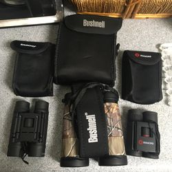 Bushnell 10/ 42 Camo Binoculars plus Two Free With Purchase for Sale in Indianapolis,  IN