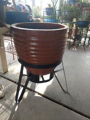 Big Plant Pot & Stand for Sale in Phoenix, AZ