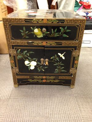 Hand painted night stand table for Sale in Fullerton, CA